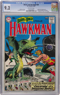 Silver Age (1956-1969):Superhero, The Brave and the Bold #34 Hawkman (DC, 1961) CGC NM- 9.2 Off-whitepages....