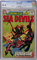 Silver Age (1956-1969):Superhero, Showcase #27 Sea Devils (DC, 1960) CGC VF+ 8.5 Off-white to whitepages....