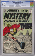 Silver Age (1956-1969):Superhero, Journey Into Mystery #86 (Marvel, 1962) CGC NM- 9.2 White pages....