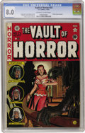 Golden Age (1938-1955):Horror, Vault of Horror #23 (EC, 1952) CGC VF 8.0 Off-white to whitepages....