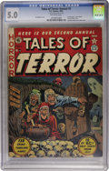 Golden Age (1938-1955):Horror, Tales of Terror Annual #2 (EC, 1952) CGC VG/FN 5.0 Off-whitepages....