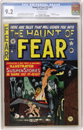 Golden Age (1938-1955):Horror, Haunt of Fear #15 (#1) (EC, 1950) CGC NM- 9.2 Off-white pages....