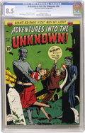 Golden Age (1938-1955):Horror, Adventures Into The Unknown #20 (ACG, 1951) CGC VF+ 8.5 Off-whiteto white pages....