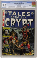 Golden Age (1938-1955):Horror, Tales From the Crypt #31 Bethlehem pedigree (EC, 1952) CGC VF/NM9.0 Off-white pages....