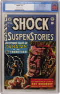 Golden Age (1938-1955):Horror, Shock SuspenStories #7 Gaines File pedigree 3/11 (EC, 1953) CGCNM/MT 9.8 Off-white to white pages....