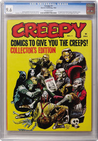 Creepy #1 (Warren, 1964) CGC NM+ 9.6 Off-white pages
