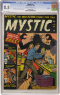 Golden Age (1938-1955):Horror, Mystic #5 Bethlehem pedigree (Atlas, 1951) CGC VF+ 8.5 Cream tooff-white pages....