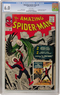 Silver Age (1956-1969):Superhero, The Amazing Spider-Man #2 (Marvel, 1963) CGC FN 6.0 White pages....