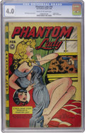Golden Age (1938-1955):Crime, Phantom Lady #16 (Fox Features Syndicate, 1948) CGC VG 4.0 Cream to off-white pages....