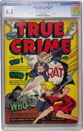 Golden Age (1938-1955):Crime, True Crime Comics #3 (Magazine Village, 1948) CGC FN+ 6.5 Cream to off-white pages....