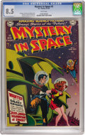 Golden Age (1938-1955):Science Fiction, Mystery in Space #2 (DC, 1951) CGC VF+ 8.5 White pages....