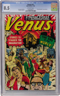 Golden Age (1938-1955):Science Fiction, Venus #11 (Atlas, 1950) CGC VF+ 8.5 Off-white pages....