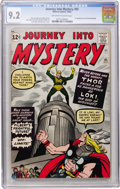 Silver Age (1956-1969):Superhero, Journey Into Mystery #85 (Marvel, 1962) CGC NM- 9.2 Off-white towhite pages....