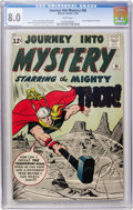 Silver Age (1956-1969):Superhero, Journey Into Mystery #86 (Marvel, 1962) CGC VF 8.0 White pages....