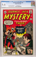 Silver Age (1956-1969):Superhero, Journey Into Mystery #87 (Marvel, 1962) CGC NM 9.4 Off-white to white pages....