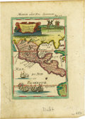 Western Expansion, 1686 Map of Mexico or New Spain...
