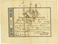 Autographs:Military Figures, Albert Sidney Johnston Document Signed as Secretary of War...