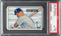 Baseball Cards:Singles (1950-1959), 1951 Bowman Mickey Mantle #253 PSA EX-MT 6....