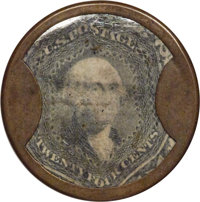 HB-137 EP-167 24¢ J. Gault Fine to Very Fine