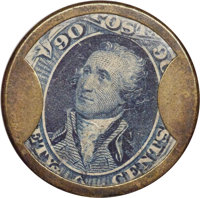 HB-141 EP-186 90¢ J. Gault Very Fine to Extremely Fine