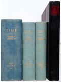 Magazines:Miscellaneous, Time and Life Magazines Bound Volumes Group of 4 (Time Life,1936-50).... (Total: 4 Comic Books)