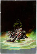 Original Comic Art:Covers, Ken Barr Disembodied Paperback Novel Cover Painting OriginalArt (St. Martin's, 1988)....