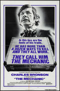"Movie Posters:Action, The Mechanic (United Artists, 1972). One Sheets (2) (27"" X 41"") Style A & B. Action.. ... (Total: 2 Items)"