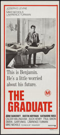 "Movie Posters:Comedy, The Graduate (United Artists, 1968). Australian Daybill (13.25"" X 29.75""). Comedy.. ..."