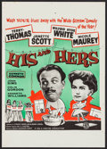 """Movie Posters:Comedy, His and Hers & Other Lot (Eros Films, 1961). British Crown (13.5"""" X 19"""") & Australian Daybill (13.25"""" X 30""""). Comedy.. ... (Total: 2 Items)"""