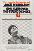 """Movie Posters:Academy Award Winners, One Flew Over the Cuckoo's Nest (United Artists, 1976). AustralianOne Sheet (27"""" X 40""""). Academy Award Winners.. ..."""