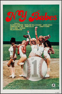 """N.Y. Babes & Others Lot (Big Apple Films, 1979). One Sheets (6) (23.25""""-27"""" X 35.5""""-41""""). Adult..."""