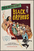 "Movie Posters:Foreign, Black Orpheus (Lopert, 1960). One Sheet (27"" X 41""). Foreign.. ..."