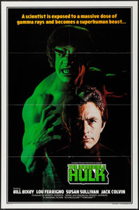 "The Incredible Hulk (Universal International, 1978). International One Sheet (27"" X 41""). Science Fiction"