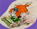 Animation Art:Concept Art, Catanooga Cats Auto Cat concept Art (Hanna-Barbera,1969)....