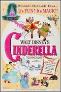 """Movie Posters:Animation, Cinderella (Buena Vista, R-1973). One Sheet (27"""" X 41""""), Title Lobby Cards (2) Identical & Lobby Cards (8) (11"""" X 14""""). Anim... (Total: 11 Items)"""