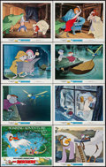 """Movie Posters:Animation, The Rescuers (Buena Vista, 1977). Title Lobby Card & LobbyCards (7) (11"""" X 14""""). Animation.. ... (Total: 8 Items)"""