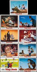 "Movie Posters:Animation, Song of the South (Buena Vista, R-1972). Lobby Card Set of 9 (11"" X14""). Animation.. ... (Total: 9 Items)"