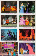 """Movie Posters:Animation, Sleeping Beauty (Buena Vista, R-1970). Lobby Card Set of 8 (11"""" X 14""""). Animation.. ... (Total: 8 Items)"""