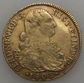 Colombia, Colombia: Ferdinand VII gold 8 Escudos 1809 NR-JF VF,...