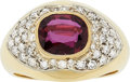 Estate Jewelry:Rings, Ruby, Diamond, Gold Ring, Bucherer. ...