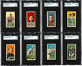 Baseball Cards:Lots, 1909-11 T206 Piedmont Collection (52). ...