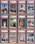 Baseball Cards:Sets, 1991 - 1993 Pacific Nolan Ryan Complete Set (250) - Almost Every Card is PSA Gem MT 10! ...