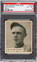 Baseball Cards:Singles (1930-1939), 1936 World Wide Gum Ray Schalk #124 PSA EX-MT 6 Pop Two, NineHigher. ...