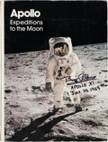 Autographs:Celebrities, Apollo Expeditions to the Moon Book Signed by Ten ApolloAstronauts, Including Six Moonwalkers. ...