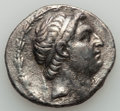 Ancients:Greek, Ancients: SELEUCID EMPIRE. Demetrius I Soter (162-150 BC). ARtetradrachm (16.05 gm). Nearly Very Fine...