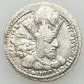 Ancients:Oriental, Ancients: SASANIAN EMPIRE. Shahpur I (AD 240-272). AR drachm (4.20 gm). Good Very Fine...