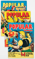 Golden Age (1938-1955):Miscellaneous, Popular Comics #57-60 and 63 Group (Dell, 1940-41) Condition: Average VG.... (Total: 5 Comic Books)