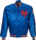 Baseball Collectibles:Others, Late 1980's Gary Carter Personally Owned New York Mets Jacket from The Gary Carter Collection. ...