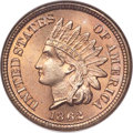 Indian Cents, 1862 1C MS67 NGC....