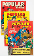 Golden Age (1938-1955):Miscellaneous, Popular Comics #54-56 Group (Dell, 1940).... (Total: 3 Comic Books)